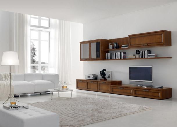 Soggiorni classici mobilificio tacchini for Tacchini mobili san salvatore
