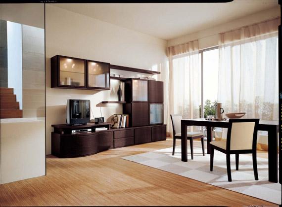 Soggiorni moderni mobilificio tacchini for Soggiorni immagini